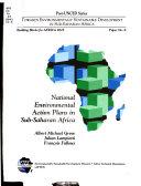 National Environmental Action Plans