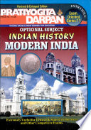 Pratiyogita Darpan: Optional Subject Indian History Modern India