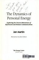 The Dynamics of Personal Energy