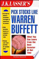J K Lasser S Pick Stocks Like Warren Buffett