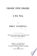Change upon Change  A love story Book