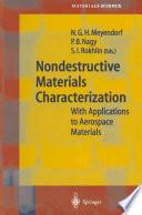 Nondestructive Materials Characterization Book