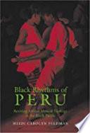 Black Rhythms of Peru Book PDF