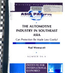 The Automotive Industry in Southeast Asia