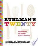 Ruhlman S Twenty Book PDF