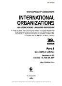 Encyclopedia Of Associations International