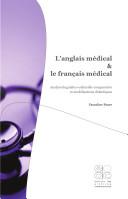 L'anglais médical & le français médical