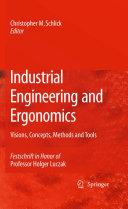 Industrial Engineering and Ergonomics