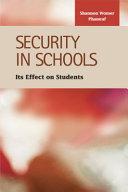 Security in Schools