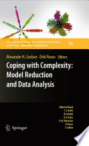 Coping with Complexity  Model Reduction and Data Analysis Book