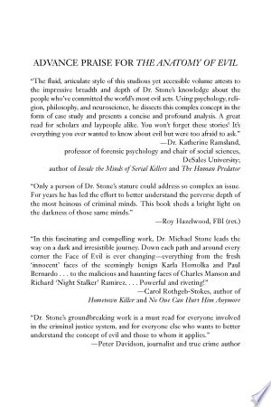 Download The Anatomy of Evil Free PDF Books - Free PDF