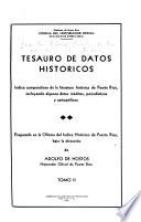 Tesauro de datos historicos