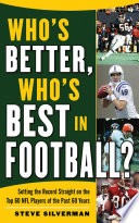 Who s Better  Who s Best in Football  Book PDF