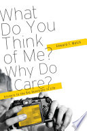 What Do You Think of Me  Why Do I Care  Book
