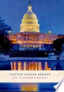 Senate Telephone Directory  2018