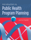 Introduction to Public Health Program Planning