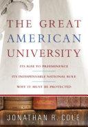 The Great American University [Pdf/ePub] eBook