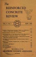 Reinforced Concrete Review