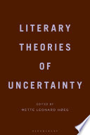 Literary Theories of Uncertainty Book
