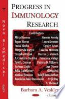 Progress in Immunology Research Book