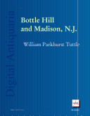 Bottle Hill and Madison, N. J. ebook