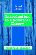 Introduction to Rhetorical Theory Pdf/ePub eBook