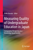 Measuring Quality of Undergraduate Education in Japan