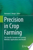 Precision in Crop Farming