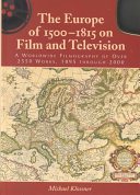 Pdf The Europe of 1500-1815 on Film and Television