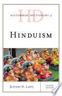 Historical Dictionary of Hinduism Book
