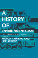 A History of Environmentalism