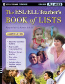 Cover of The ESL/ELL Teacher's Book of Lists