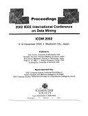 2002 IEEE International Conference on Data Mining