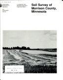 Soil survey of Morrison County, Minnesota