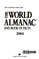 The World Almanac and Book of Facts 2004 Book PDF