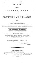 Letters to the Inhabitants of Northumberland and Its ...