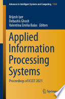 Applied Information Processing Systems Book