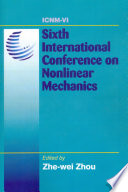 Sixth International Conference on Nonlinear Mechanics  ICNM 6