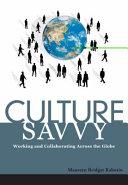 Culture Savvy
