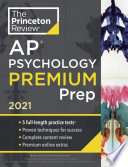 Princeton Review AP Psychology Premium Prep 2021