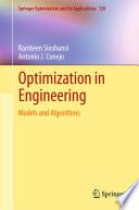 Optimization in Engineering Book
