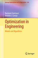 Optimization in Engineering