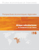 Regional Economic Outlook, April 2016, Sub-Saharan Africa