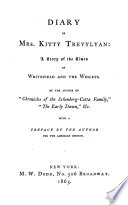 Diary of Kitty Trevylyan Book
