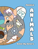 PUZZLE ANIMALS Color By Colors