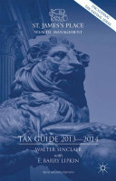 St. James's Place Tax Guide 2013-2014 Pdf/ePub eBook