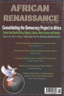 Consolidating the Democracy Project in Africa