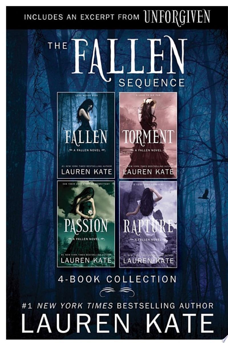The Fallen Series: 4-Book Collection banner backdrop
