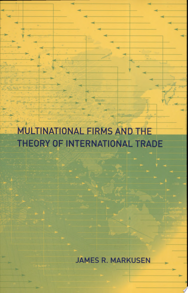 Multinational Firms and the Theory of International Trade banner backdrop