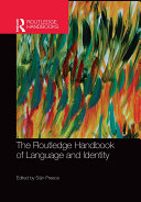 Pdf The Routledge Handbook of Language and Identity Telecharger